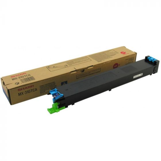 Sharp MX-31GTCA Toner Copier  Cyan - 15k Pgs