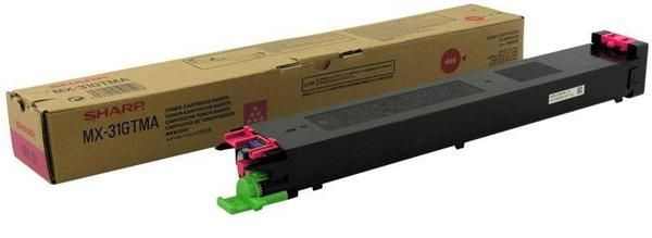 Sharp MX-31GTMA Toner Copier Magneta - 15k Pgs