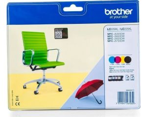 Brother LC-229XLBK valuepack LC229XLVALBPDR KCMY